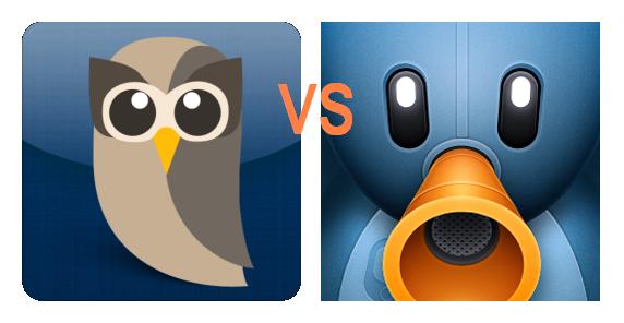 HootSuite vs. Tweetbot