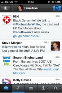 Tweetbot iPhone screenshot 1