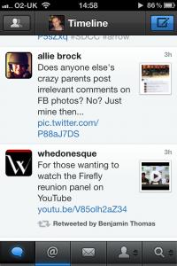 Tweetbot iPhone screenshot 2