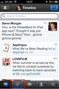 Tweetbot iPhone screenshot 3