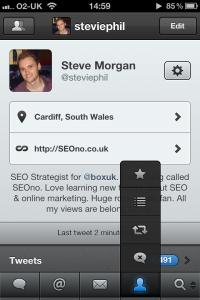 Tweetbot iPhone screenshot 4