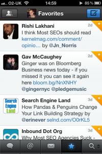 Tweetbot iPhone screenshot 5