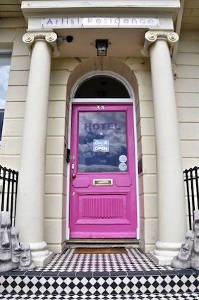 Artist Residence entrance image