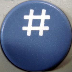 Hash symbol image