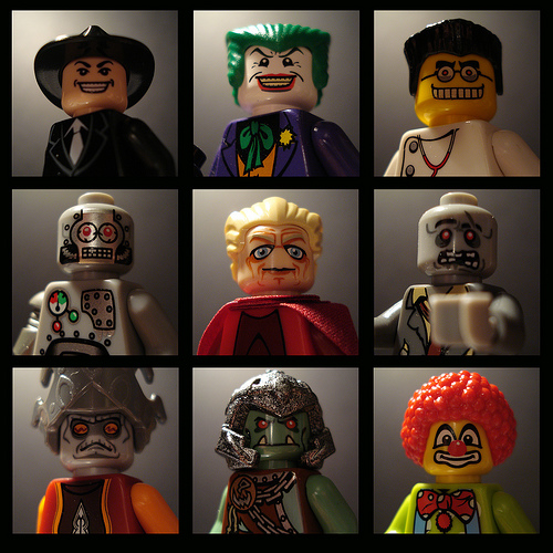 Lego Faces image