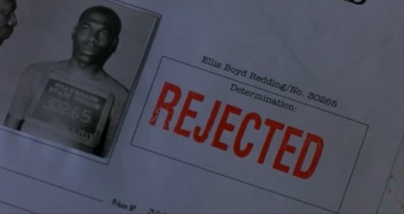 Red's 1st rejection image