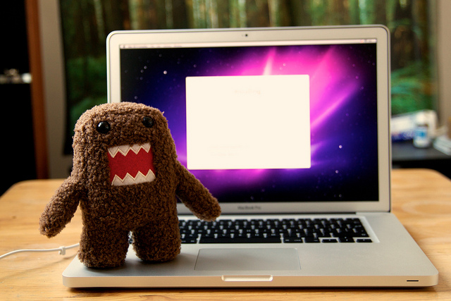 Monster/laptop image