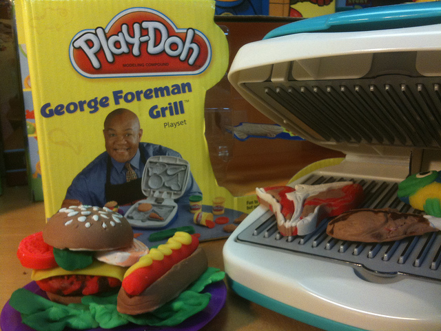 George Foreman Play-Doh