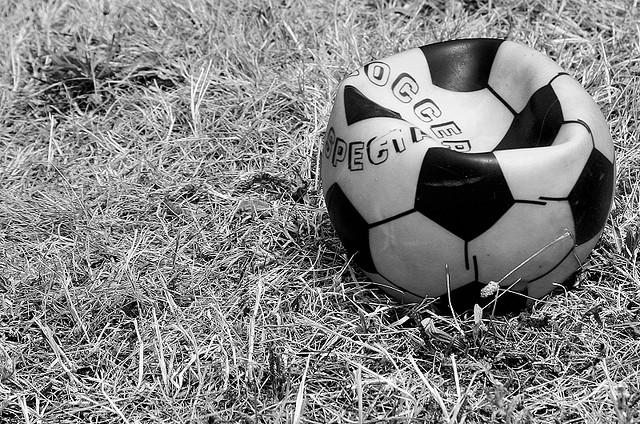 Deflated football image