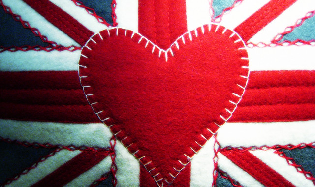 Union Jack heart image