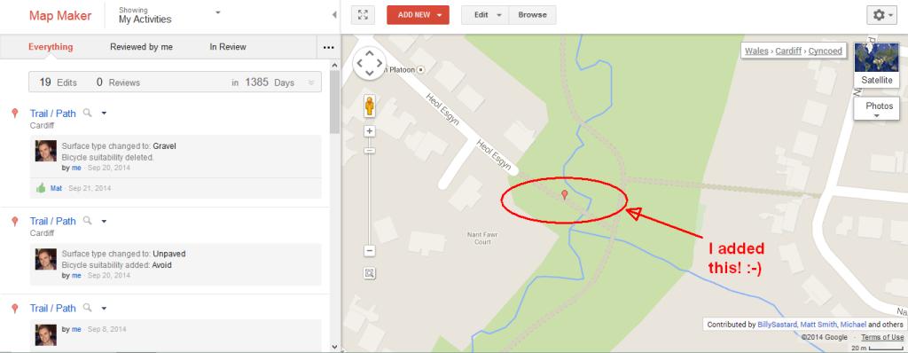 Map Maker edit screenshot