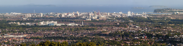Cardiff panoramic shot