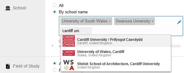 LinkedIn Ads School Targeting screenshot