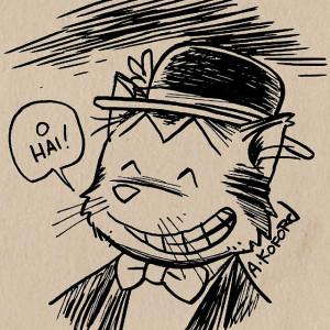 O Hai cat sketch