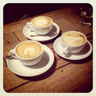 Three coffees image