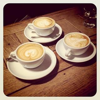 Three coffees image