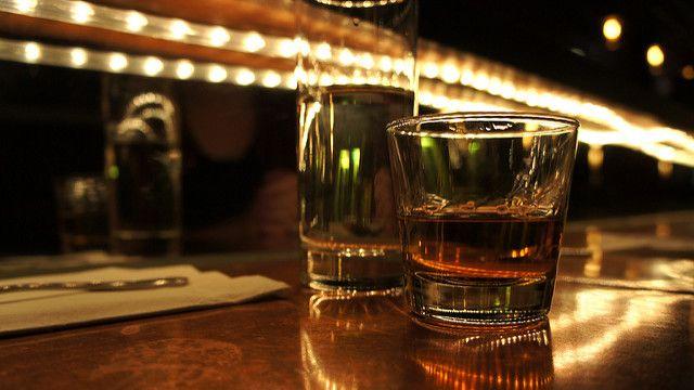 Celebratory whiskey image