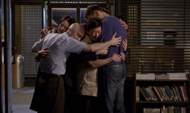 Community hug image