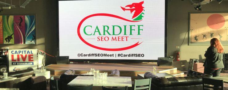 Cardiff SEO Meet banner